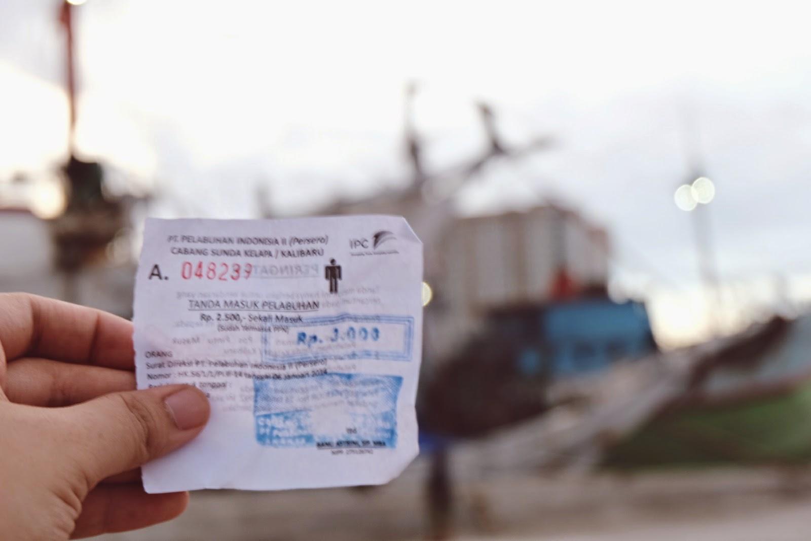 tiket masuk pelabuhan sunda kelapa
