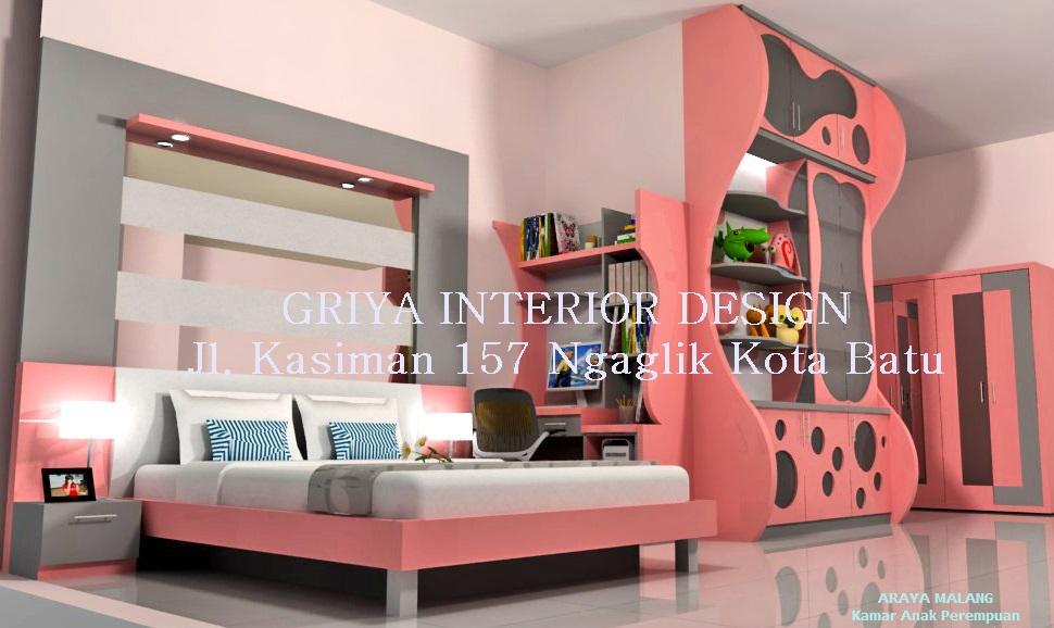 design interior desain rumah pribadi araya malang