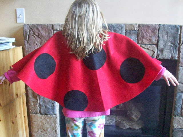 ladybug cape sewing tutorial