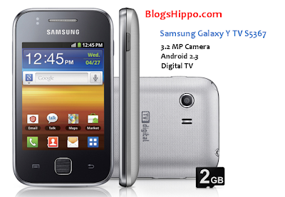 Galaxy Y Digital TV S5367