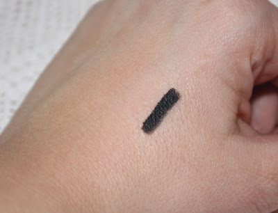 Too Faced Perfect Eyes Waterproof Eyeliner in Perfect Black Swatch