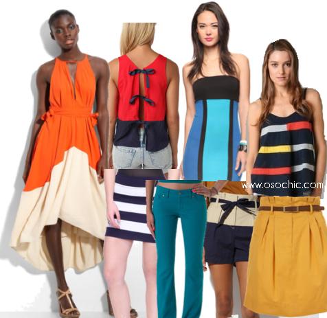 You 39 Ve Got Style Color Block Fashion