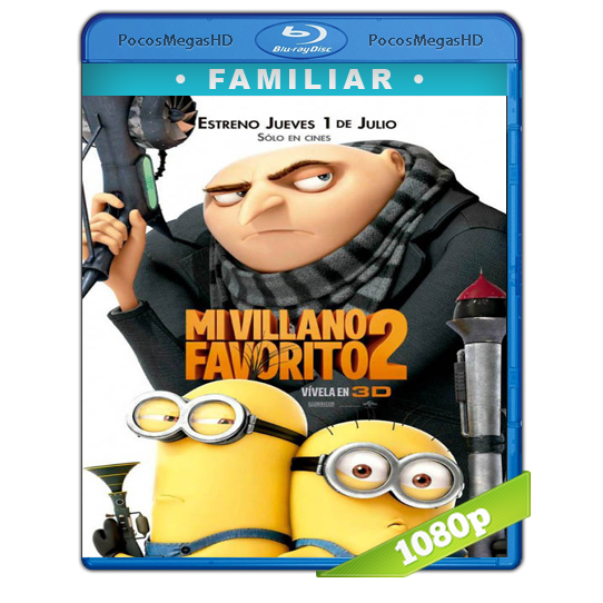 Mi Villano Favorito 2 (2013) Full HD BRRip 1080p Audio Dual Latino/Ingles 5.1 (peliculas hd )