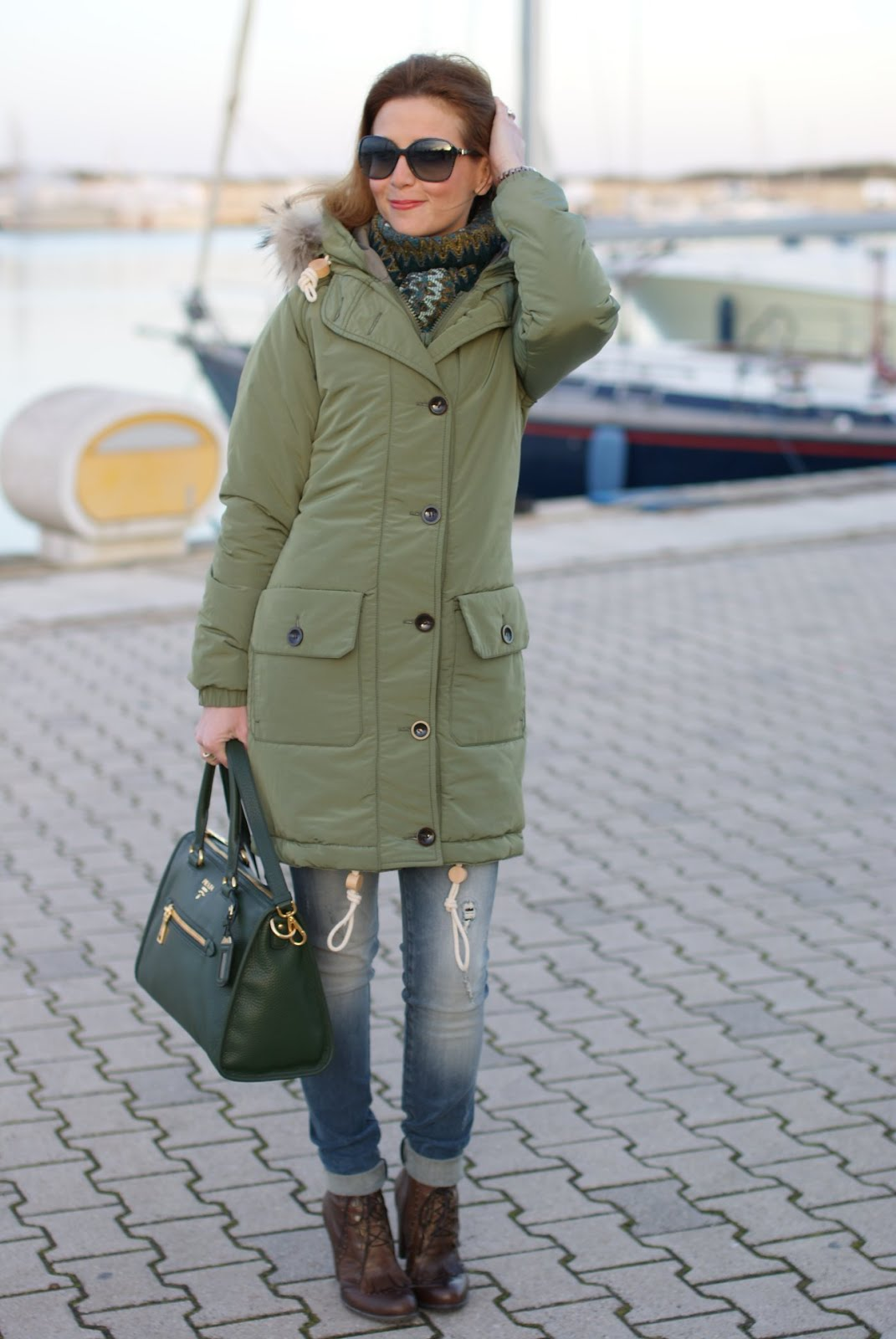 Trendy and warm: my Parka jacket ! | Fashion and Cookies - fashion ...