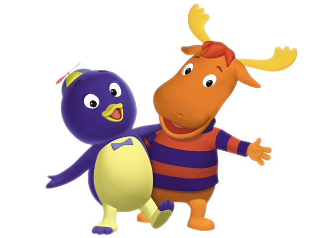 Little Backyardigans : Cartoon Characters The Backyardigans PNG pack