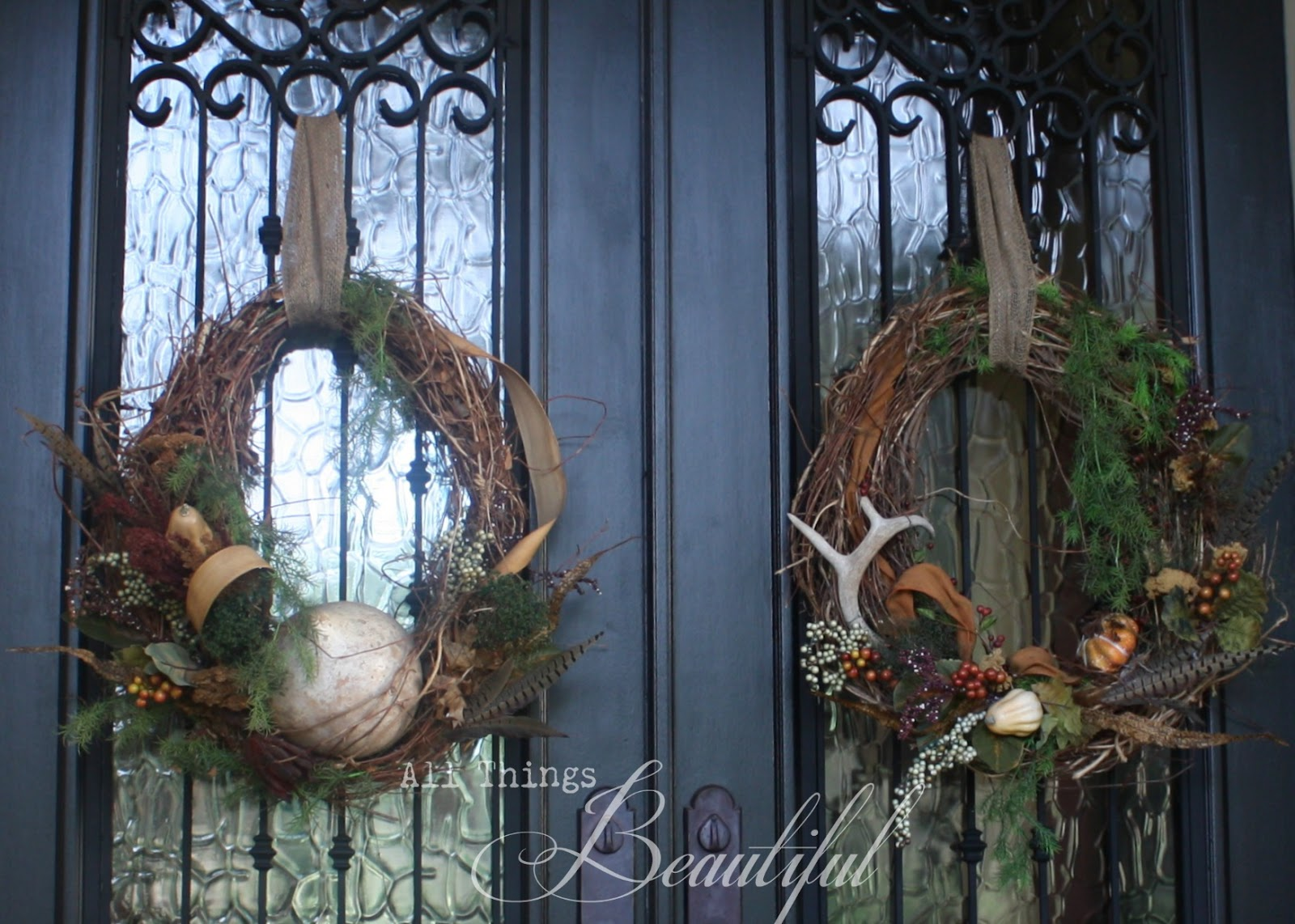 Since I Have Double Doors That Means Wreaths