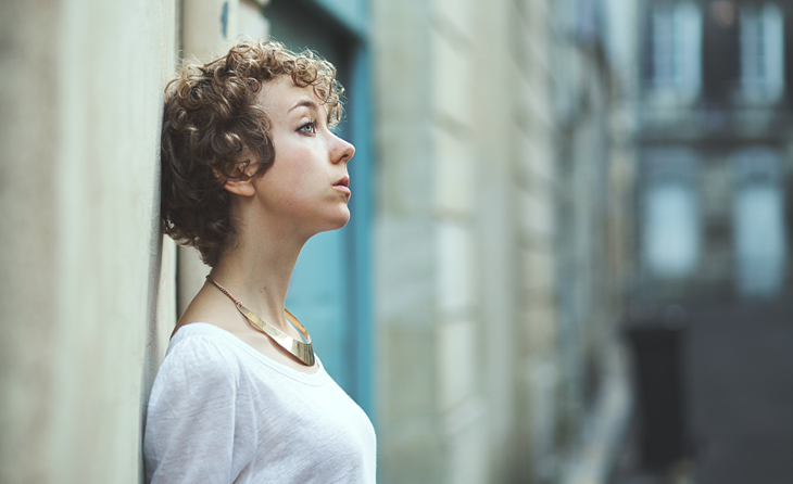 portrait photography of the fashion blogger das sheep