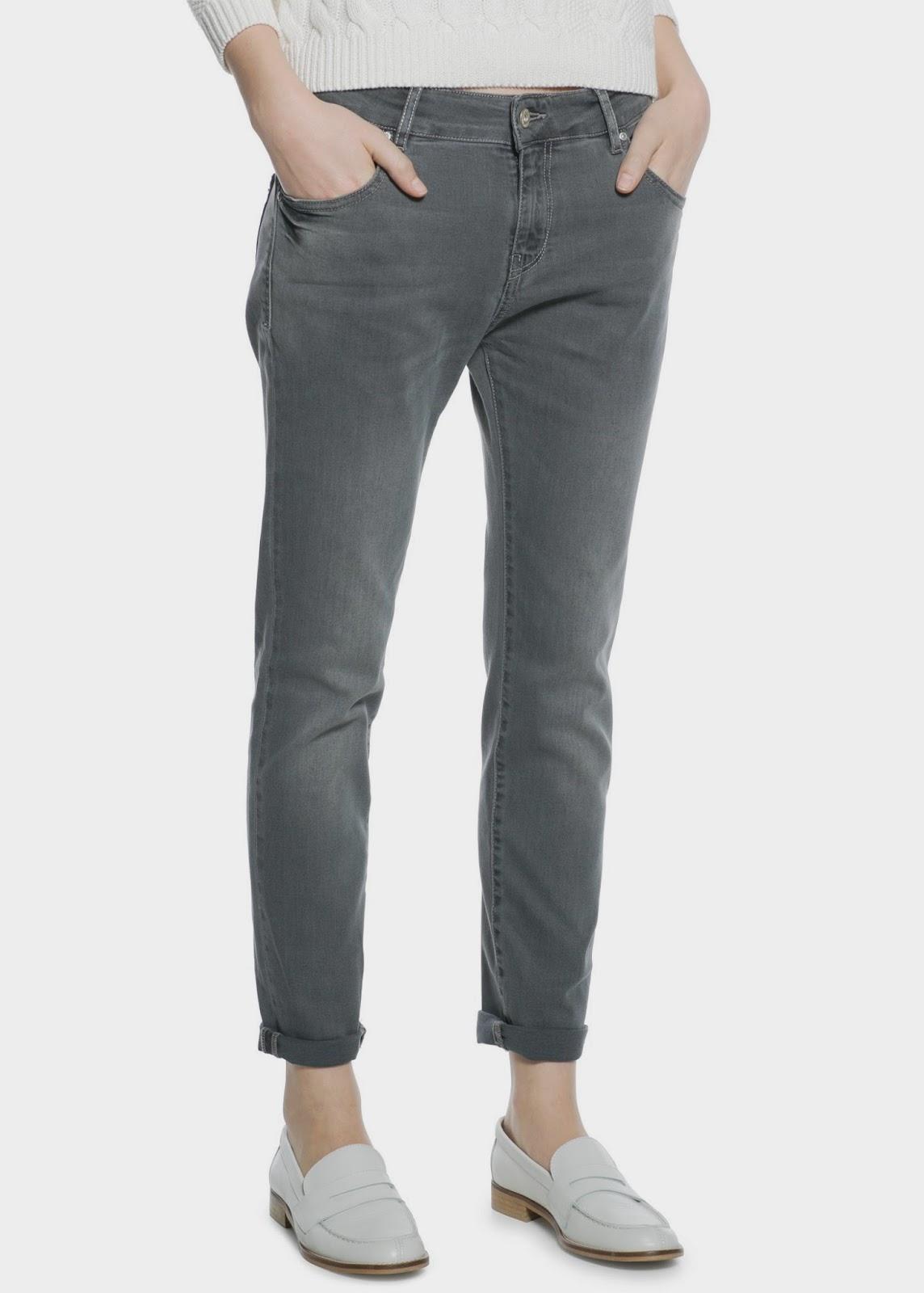 mango grey jeans