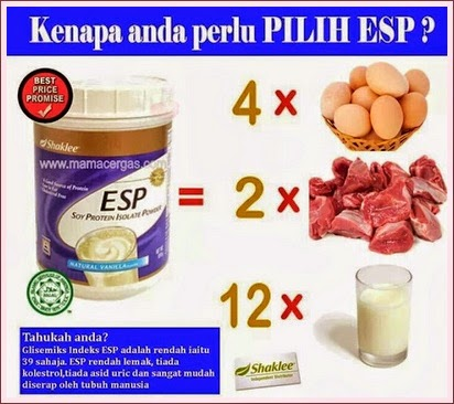ESP | Shaklee | Soy Protein | Vitamin | Supplement | Kesihatan | Shaklee | Sungai Buloh | Setiawangsa