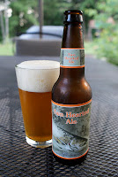 Two Hearted Ale bottle and glass