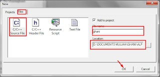 Cara Menggunakan MinGW Developer Studio