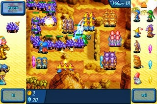 Download Game Crystal Defenders Cho Java, Android