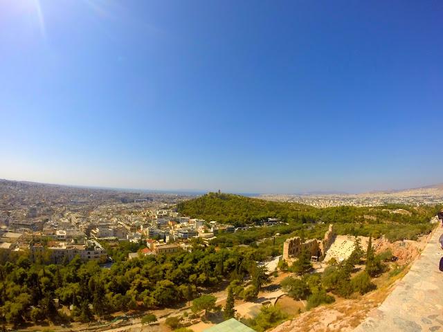 beautiful view athens