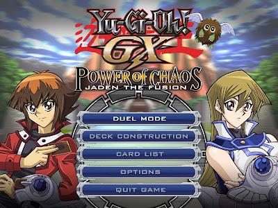 Yu-Gi-Oh! GX - Power of Chaos GX_main_poc