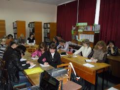 На базі бібліотеки проходять навчання молоді працівники ЦБС