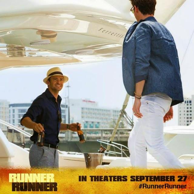 La película Runner Runner ( Apuesta máxima )