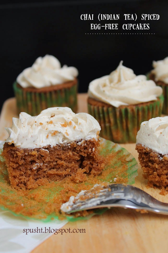Chai Tea Cupcake Recipe