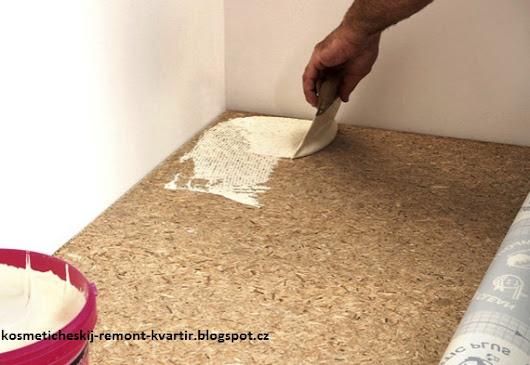 Постелить линолеум на деревянный пол 105