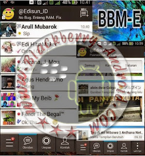BBM-E MOD NEW Versi 2.8.0.21 APK