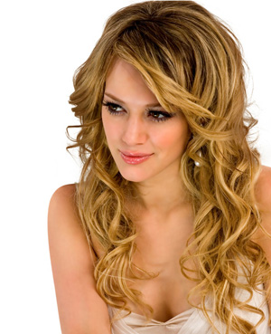 Long Curly Hairstyle For Women 2012