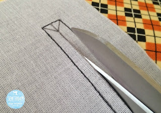 Use scissors for more precise cutting