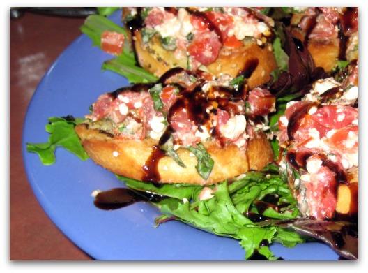 mellow mushroom bruschetta appetizer