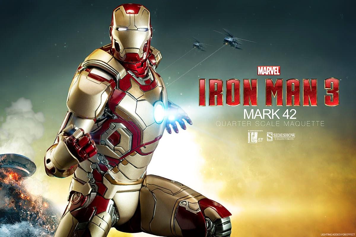 Cinextreme Reviews Und Kritiken Collection Iron Man Mark 42