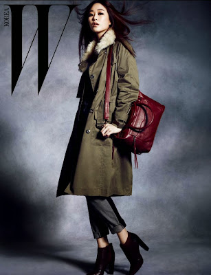 Kim Hyo Jin - W Magazine November Issue 2013