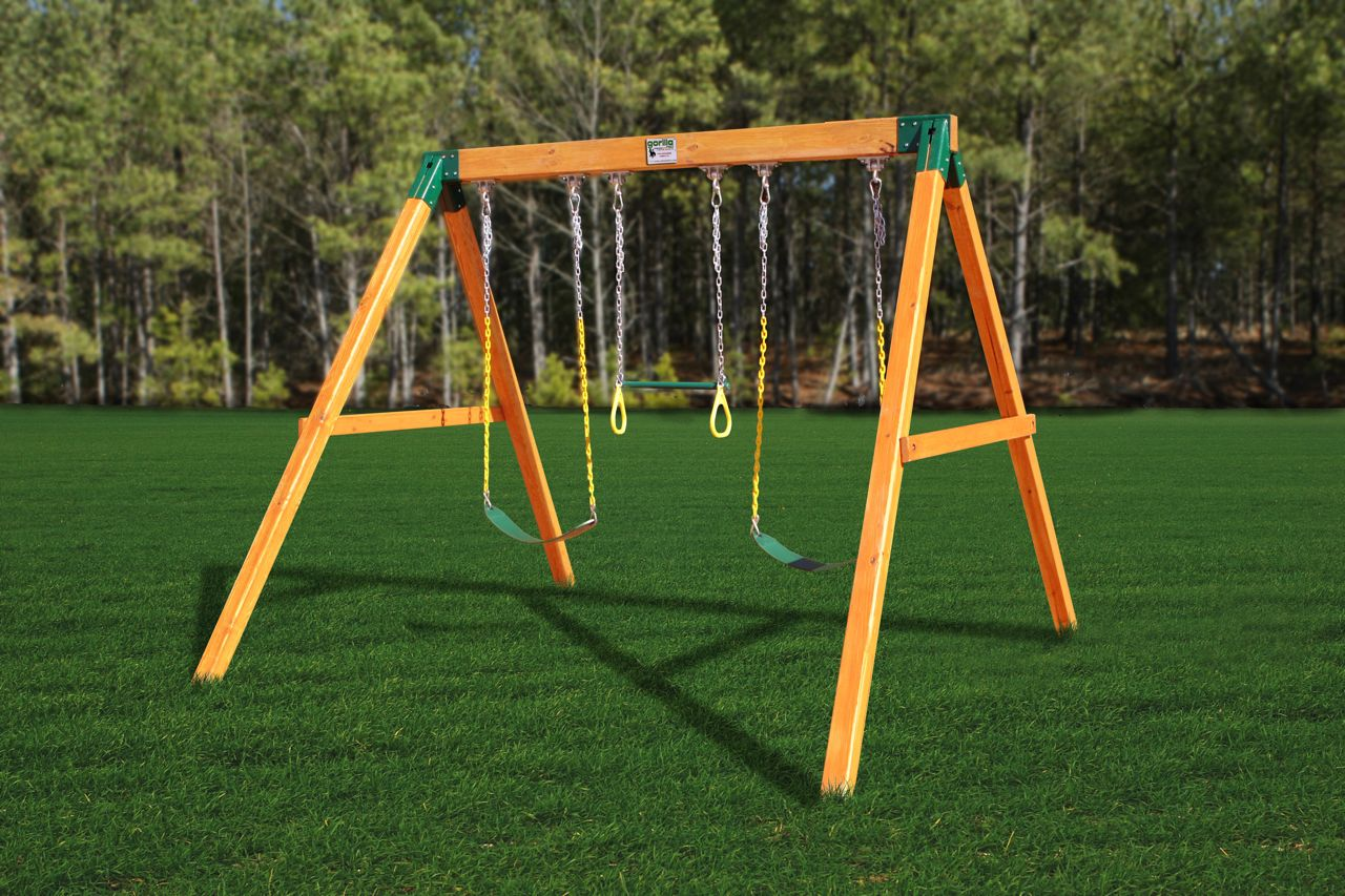 Blog july 2012 for Wooden swing set plans