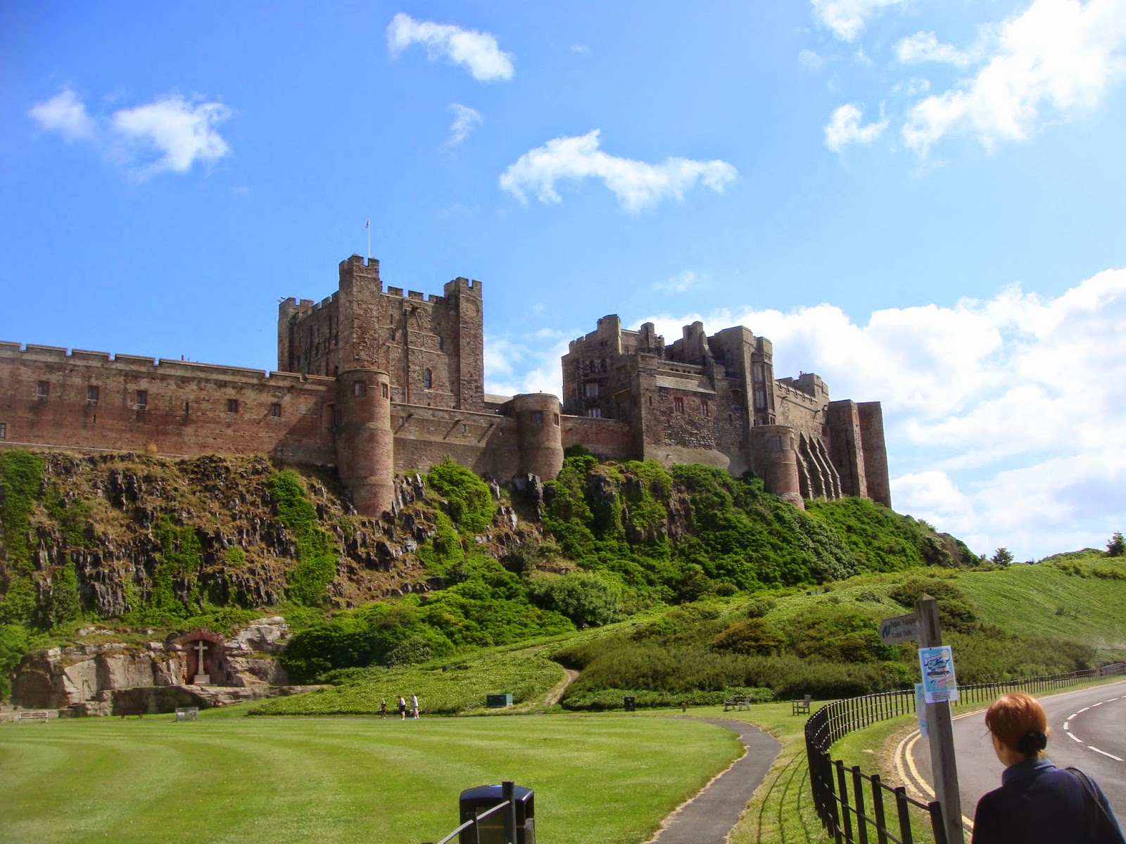 Bamburgh Castle - Black Cat Souvenirs