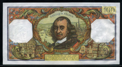 money currency France banknotes 100 Francs bill