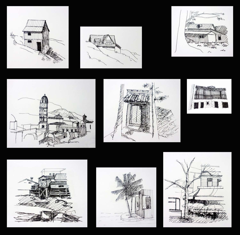 T cnicas de representaci n arquitect nica tinta for Tecnicas de representacion arquitectonica pdf