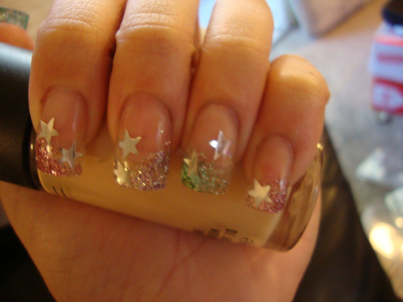 obsessed: Glitter Fade + 3D Stars!