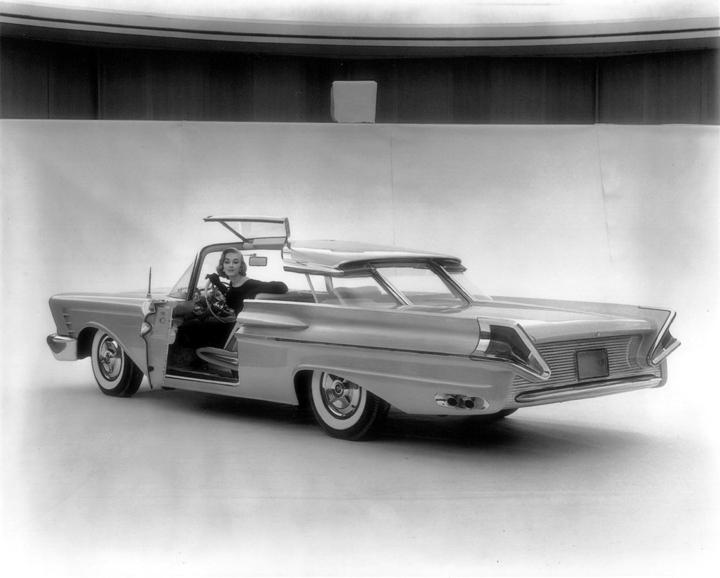 Dream Cars 1956 Mercury XM Turnpike Cruiser