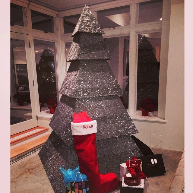 Have You Seen Rihanna's Unique Christmas Tree?