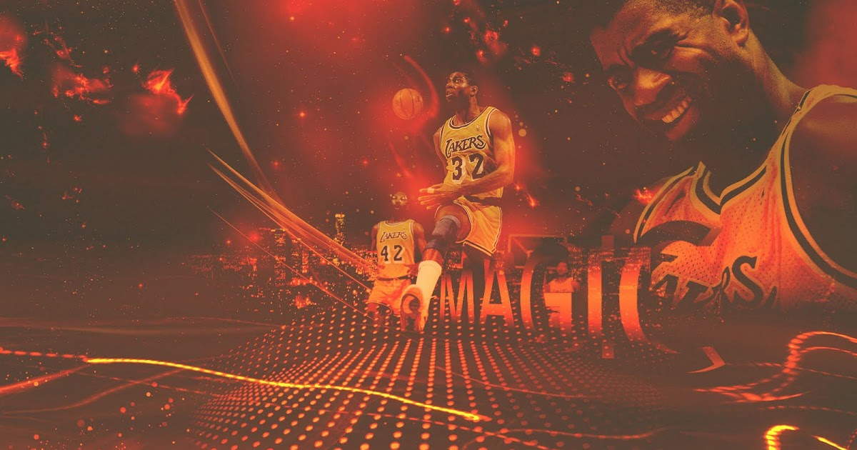 Magic Johnson Lakers 1680x1050 Wallpaper ~ Big Fan of NBA ...