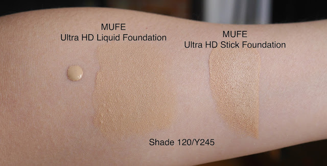 MUFE Ultra HD Foundation review