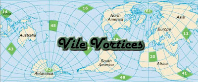 The vile vortices is a term the refers to tweleve places in the world