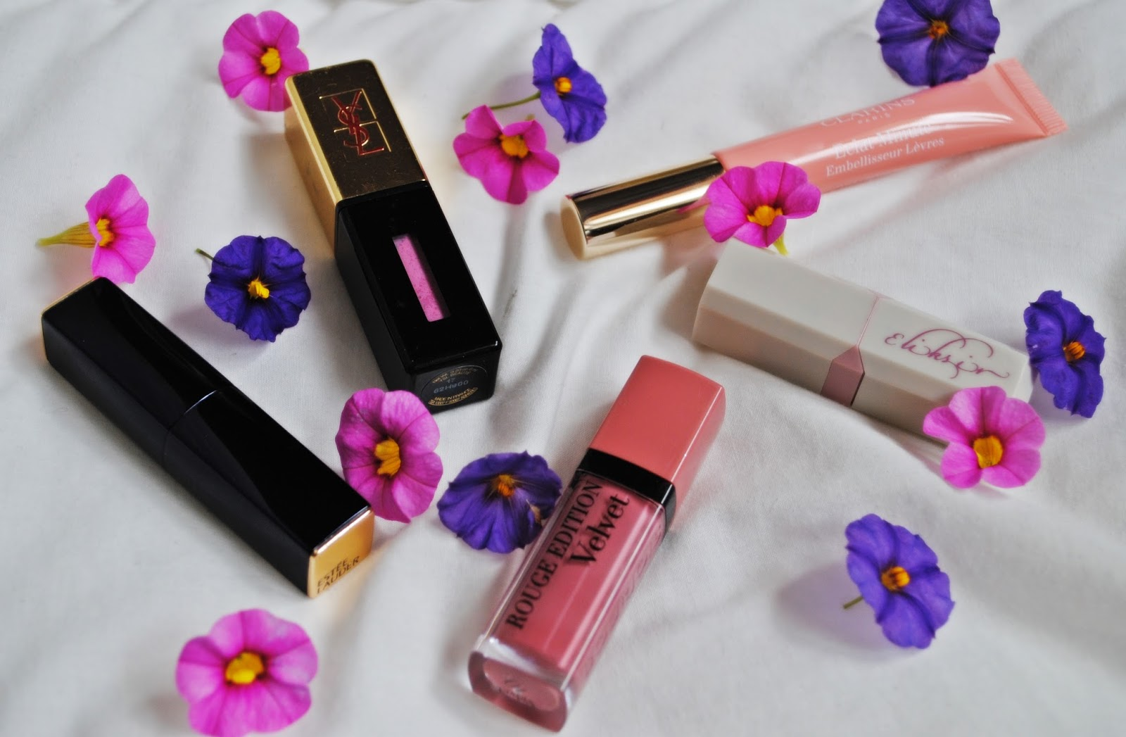 Top 5 produktów do ust Ysl, El, Clarins, wibo, Bourjois beautypediapatt.blogspot.com