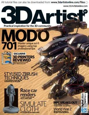 3D Artist Magazine Issue 57 2013