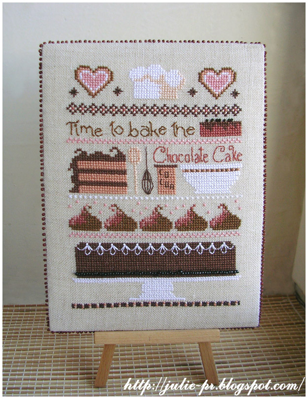 Casey Buonaugurio Chocolate Cake Sampler pinkeep пинкип вышивка cross stitch пирожные