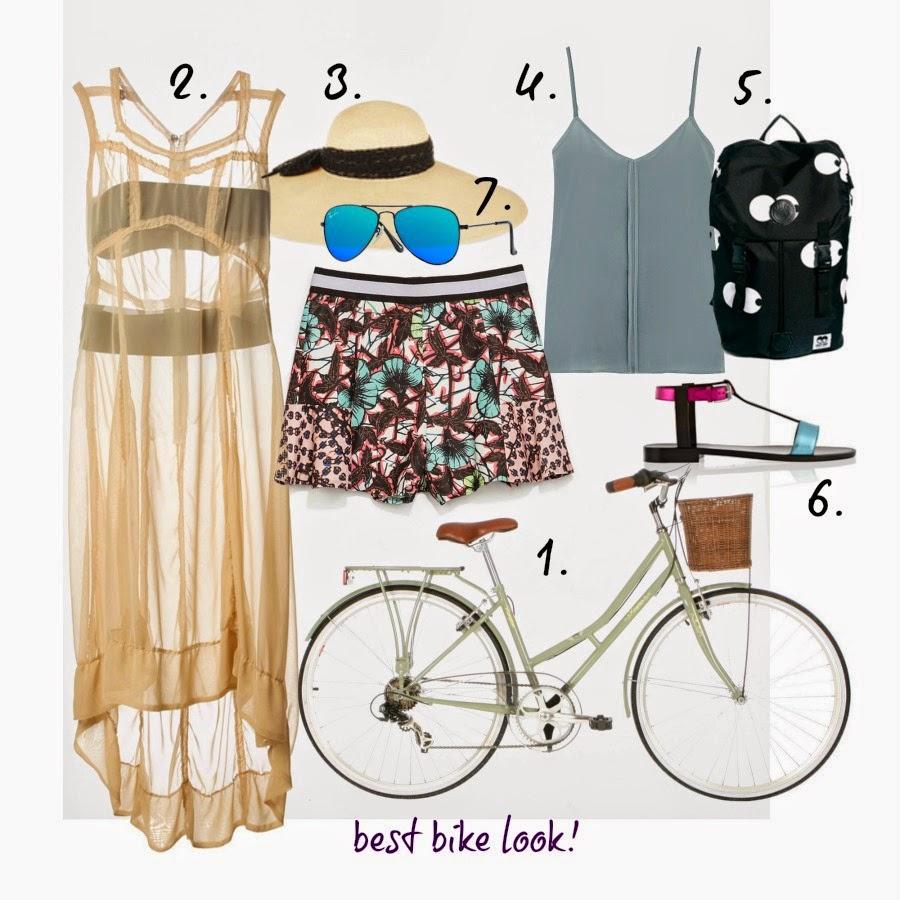 breezy light summer dress, omme Des Garcons vintage ,Eugenia Kim sunhat, Iris&ink Cammi top ,Lazy Oaf Backpack in Eye Print ,saint Laurent metal sandals