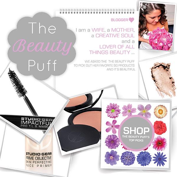 studio gear cosmetics - the beauty puff