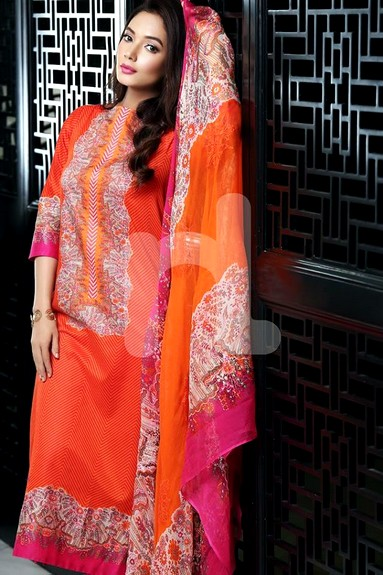 Exclusive 4-PC Nisha Lawn Suits
