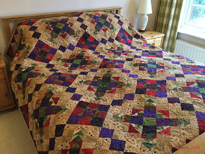 Easy Street Quilt - complete and in use!