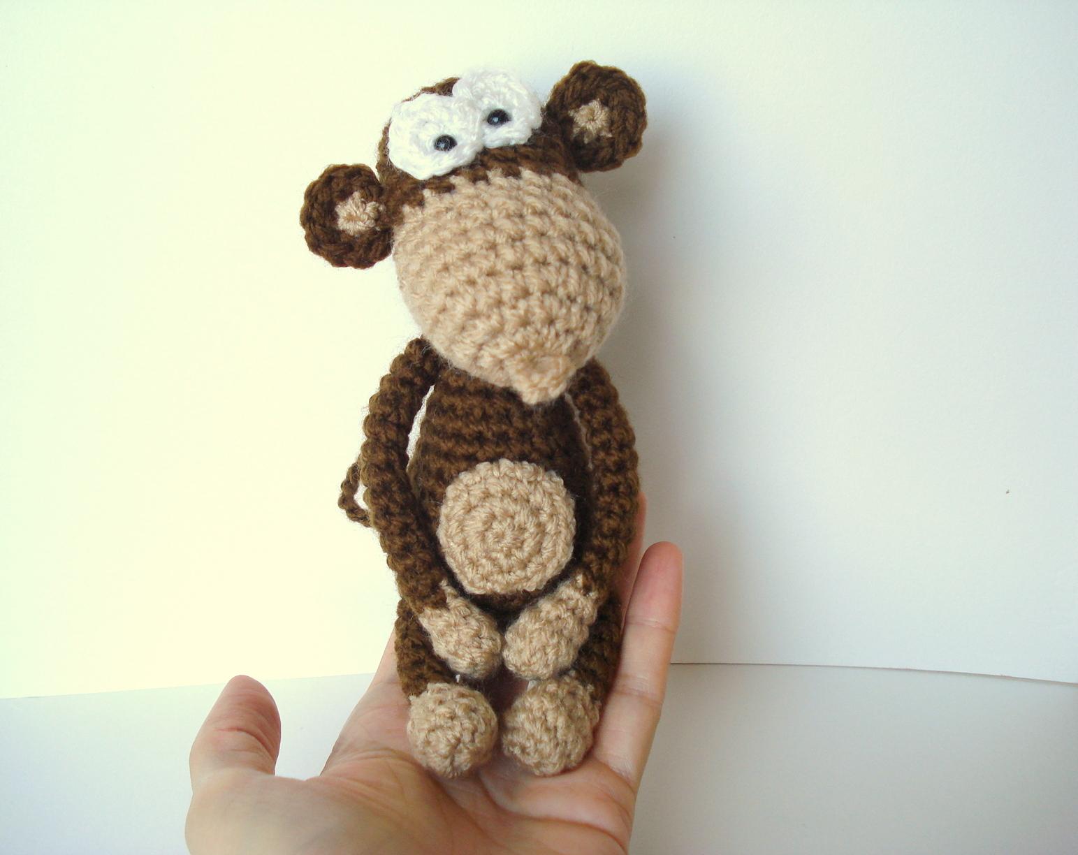 Amigurumi Crochet Monkey : AllSoCute Amigurumis: Amigurumi Monkey Pattern, Crocheted ...