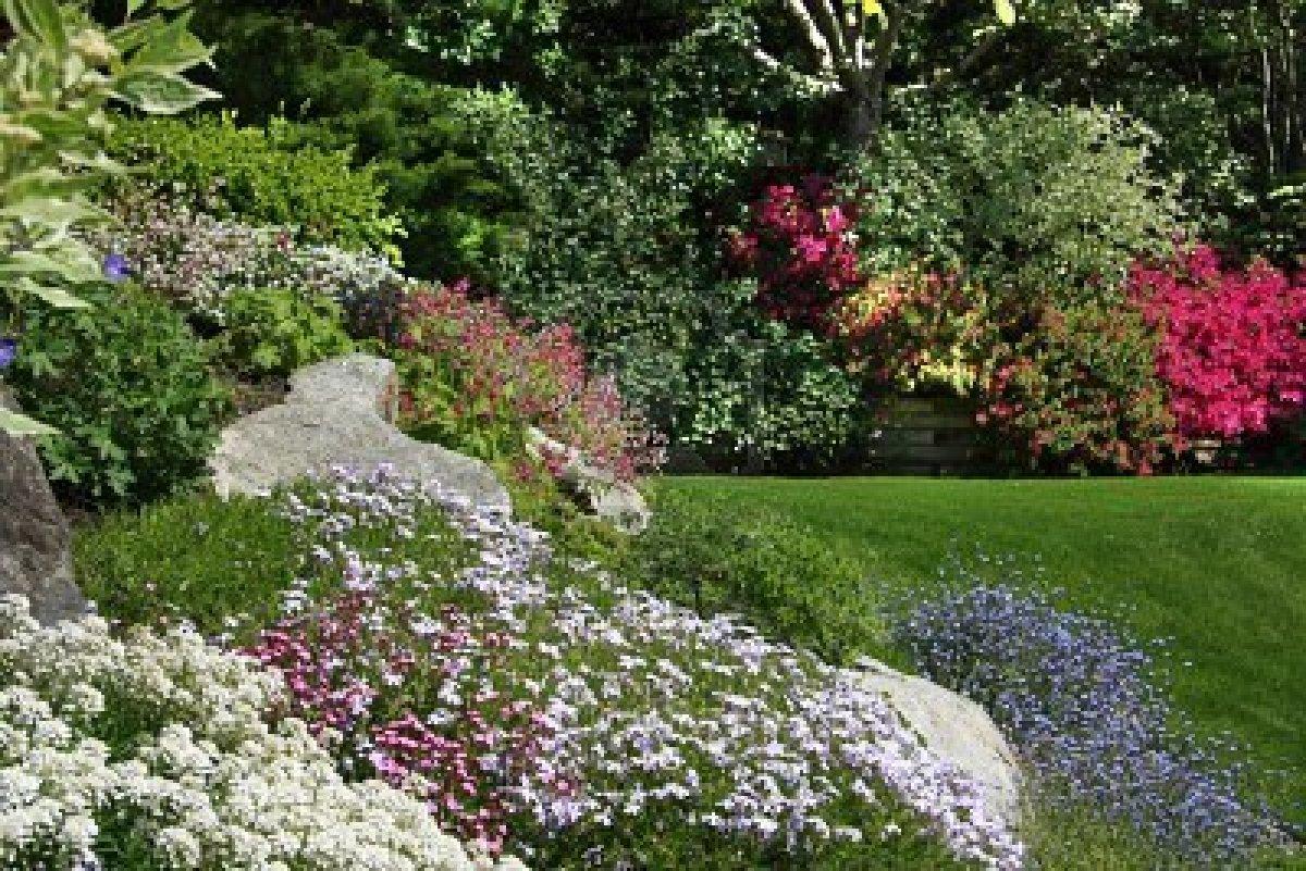 zone d 39 ombra il giardino in primavera
