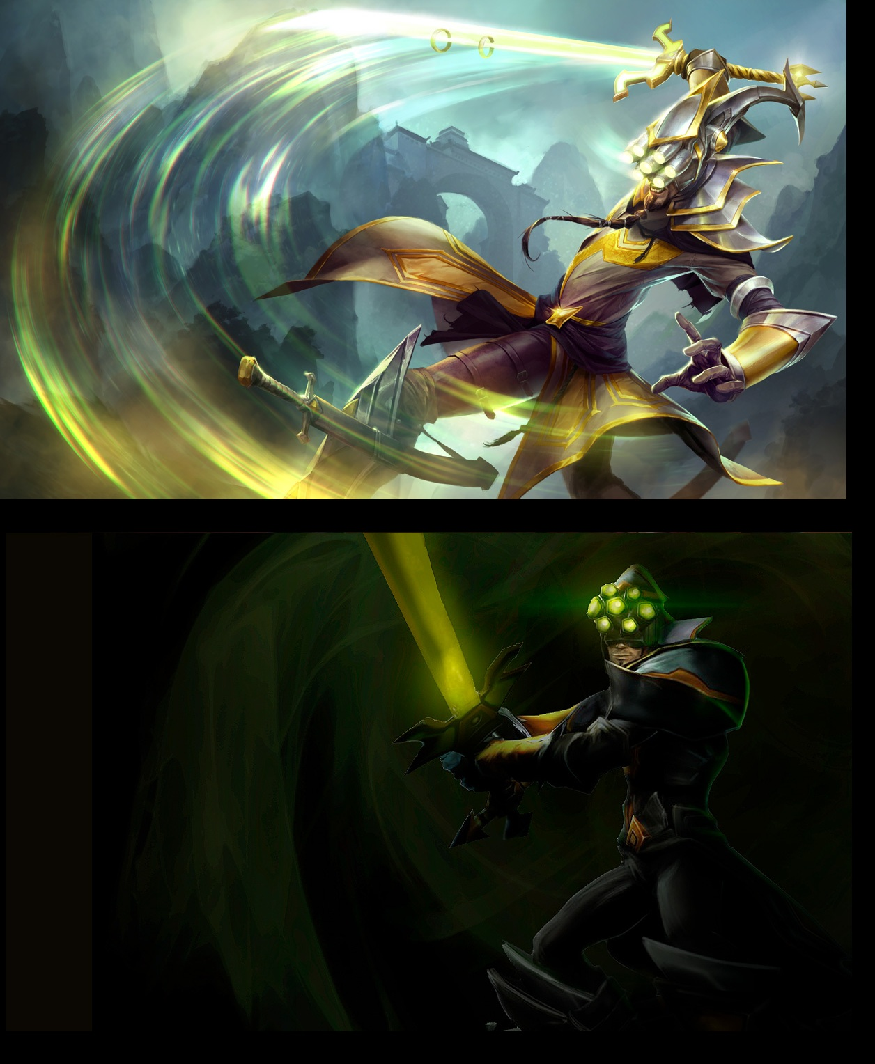 surrender at 20 1127 pbe update nami yi and le blanc