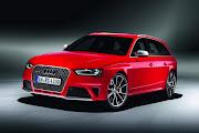 2013 Audi RS4 Avant Release