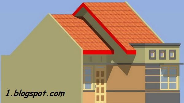 rumahku 1 contoh denah rumah minimalis type 38 65